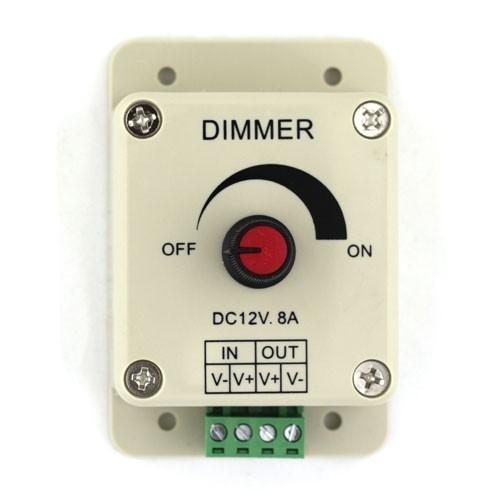 Led Dimmer 12vdc 8 Amp Rotary Dimmer